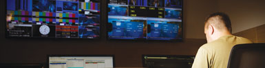 KVM in Broadcasting Studios